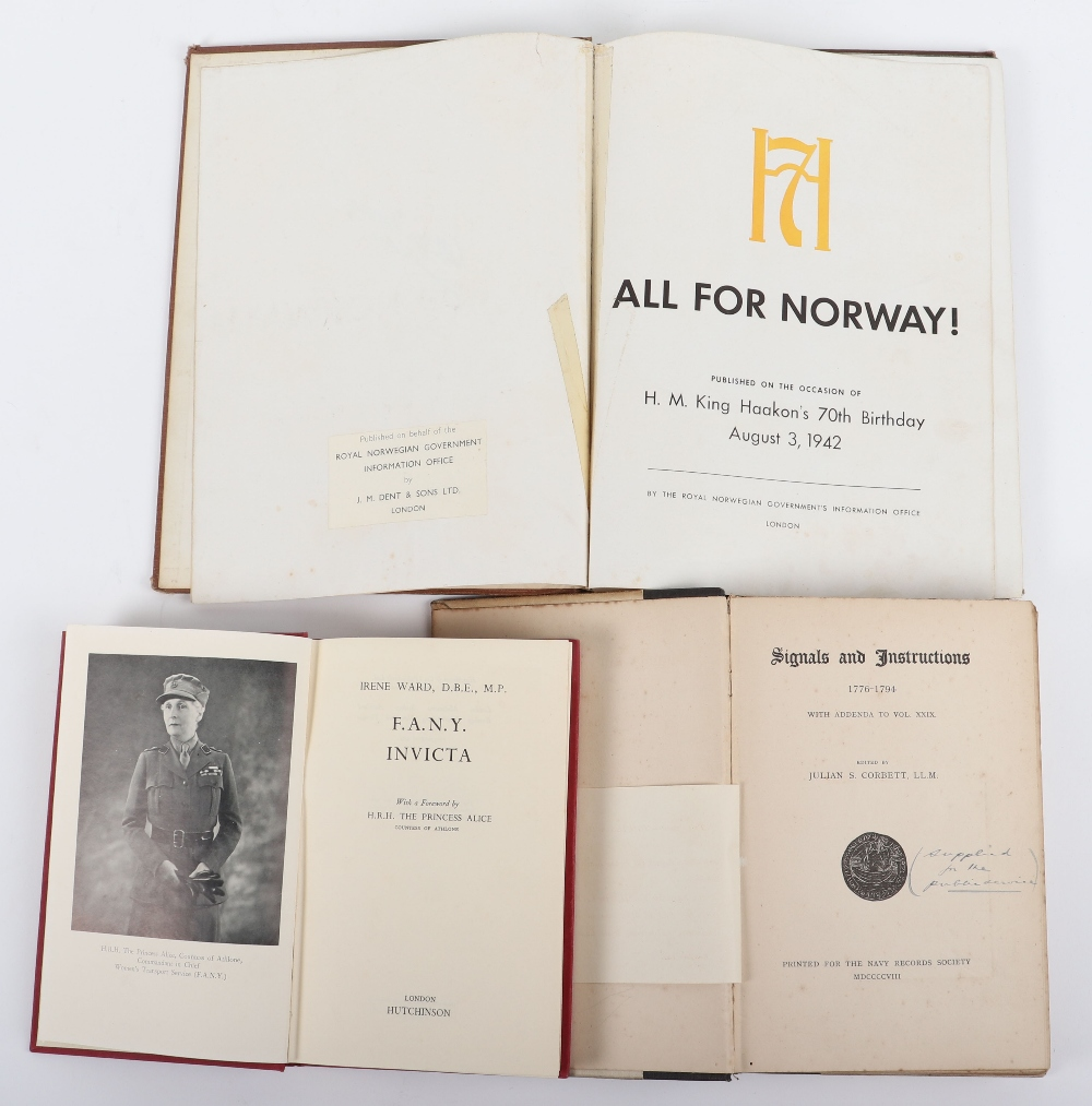 Mixed Military Volumes etc - Image 3 of 3