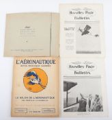 Small Collection of Aviation Ephemera