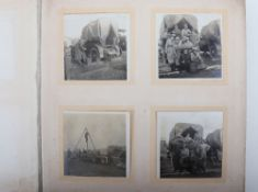 Interesting Great War (part) Photograph Album of Aviation Interest