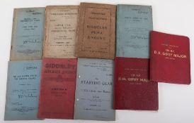 Nice Collection of Original Aircraft Manuals