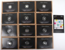 Twelve London 2012 silver 50p Sports Collection
