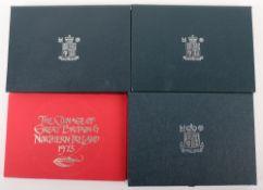 Royal Mint Proof Set, 1973, 1985, 1994, 1997
