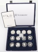 The Prince Edward & Miss Sophie Rhys-Jones silver coin collection