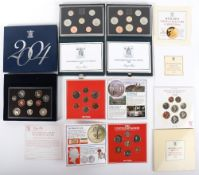 Royal Mint Proof Coin Collection 1985, 1986, 2004