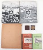 A collection of 1936 Garmisch Germany Winter Olympic Games items