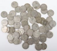 A selection of 1920-1946 Florins (Two Shillings)