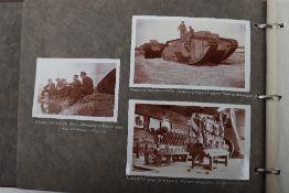 Tank Interest Photograph Album Belonging to Berkeley-Miller