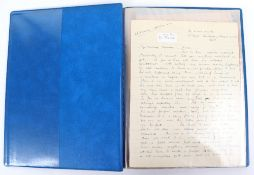 Archive of Lt. M.M.V.Maude, 5th Royal Inniskilling Dragoon Guards 1940, fascinating Collection of le