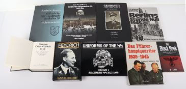 Selection of Books Relating to the Third Reich and SS
