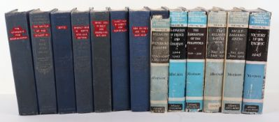 13x Volumes of History of United States Naval Operations in World War II by Morison