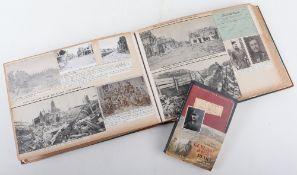 Important Photograph and Ephemera Great War Album belonging to Captain, later General James Lockhead