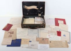 G.A Rowlerson MC. Substantial and Interesting Collection of Ephemera