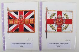 David J Hunter Regimental Colours of The East Yorkshire Regiment (The Duke of York's Own)