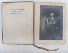 Kenneth N. Collins Camera Portraits 24, Ryder Street St. James SW1 Sample Album of mainly Military P