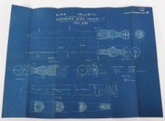 Original Sword and Edged Weapon Blue Prints etc