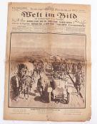 WW1 German Propaganda News Sheet