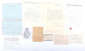 World War One Exemption Certificate,