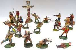 Elastolin 70mm scale Cowboys and Indians