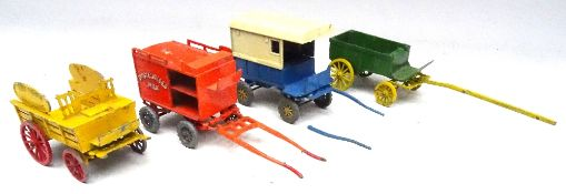 Diecast horsedrawn Vehicles, Lesney Moko Rag and Bone Cart