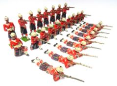 Britains set 89, Cameron Highlanders firing