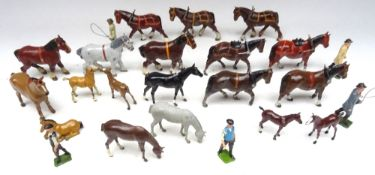 Britains assorted Horses
