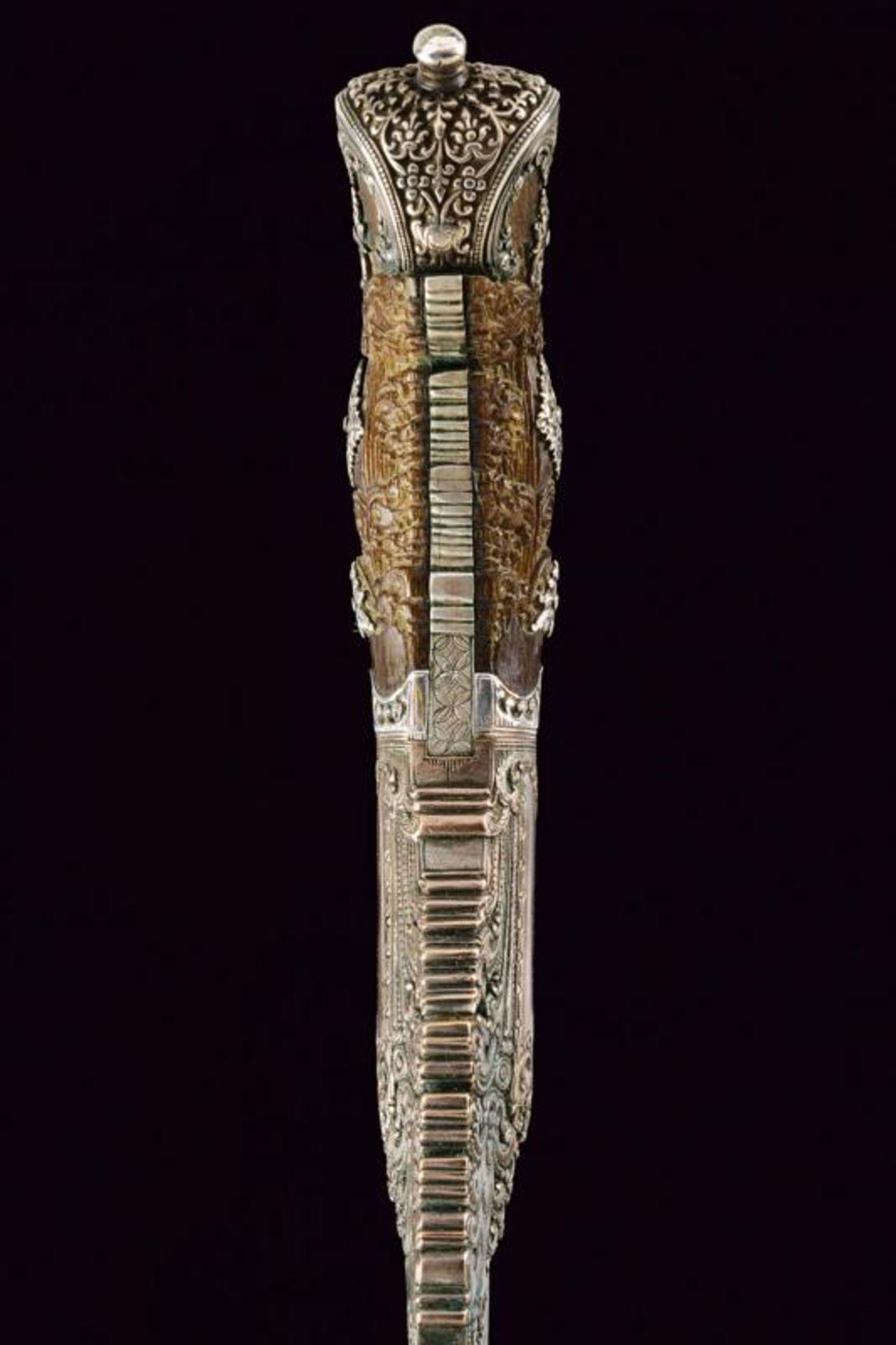 A beautiful silver mounted Piha-kaetta - Bild 7 aus 8
