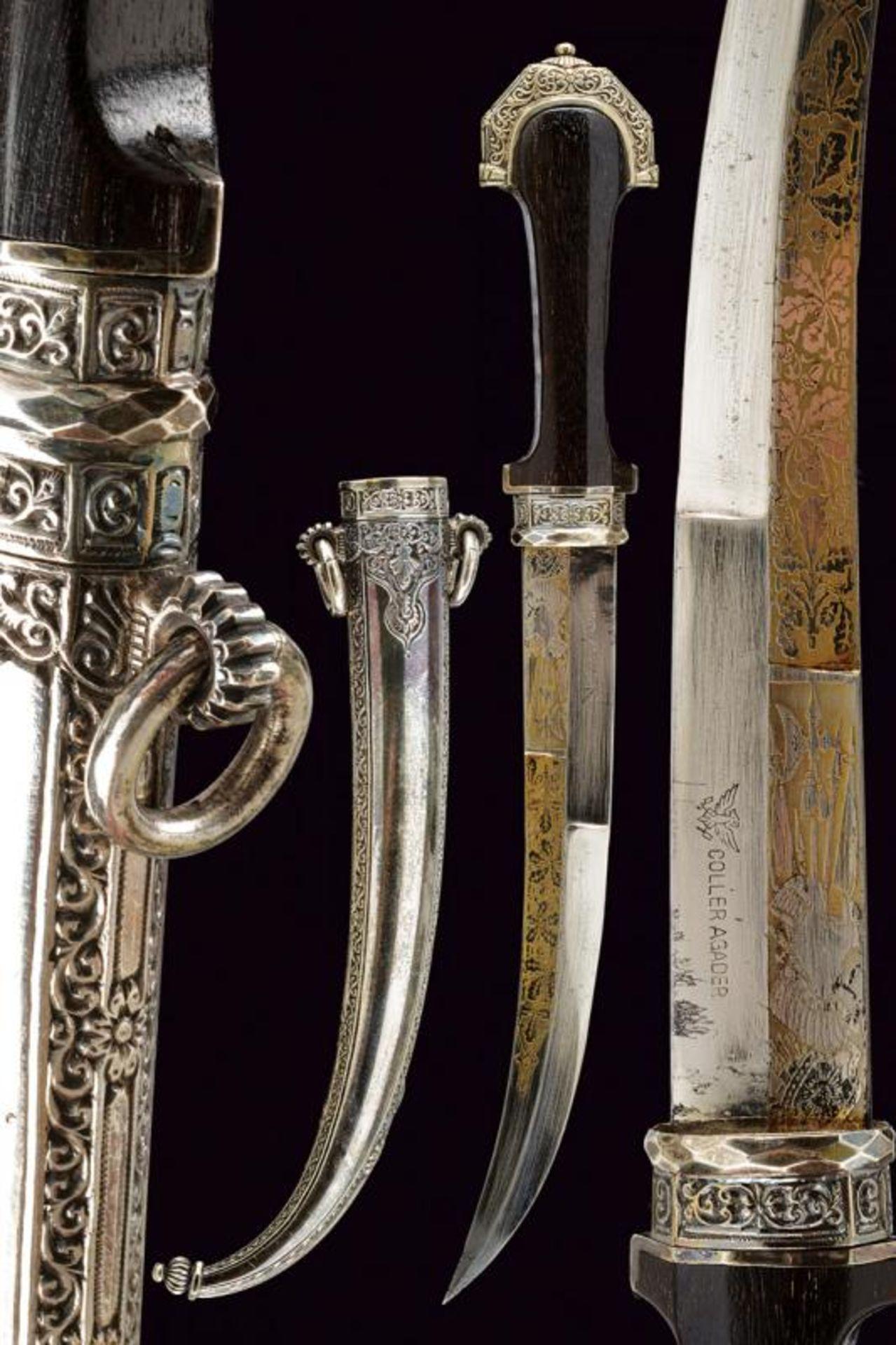A silver mounted Koummiya