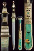 A Tuareg dagger