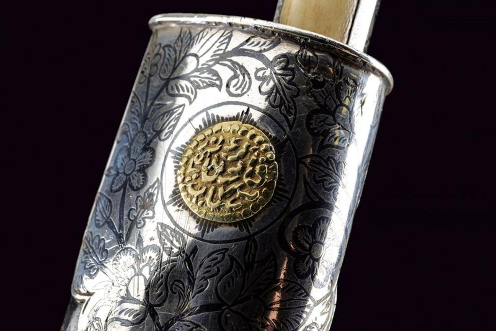 A fine silver mounted knife - Bild 8 aus 10