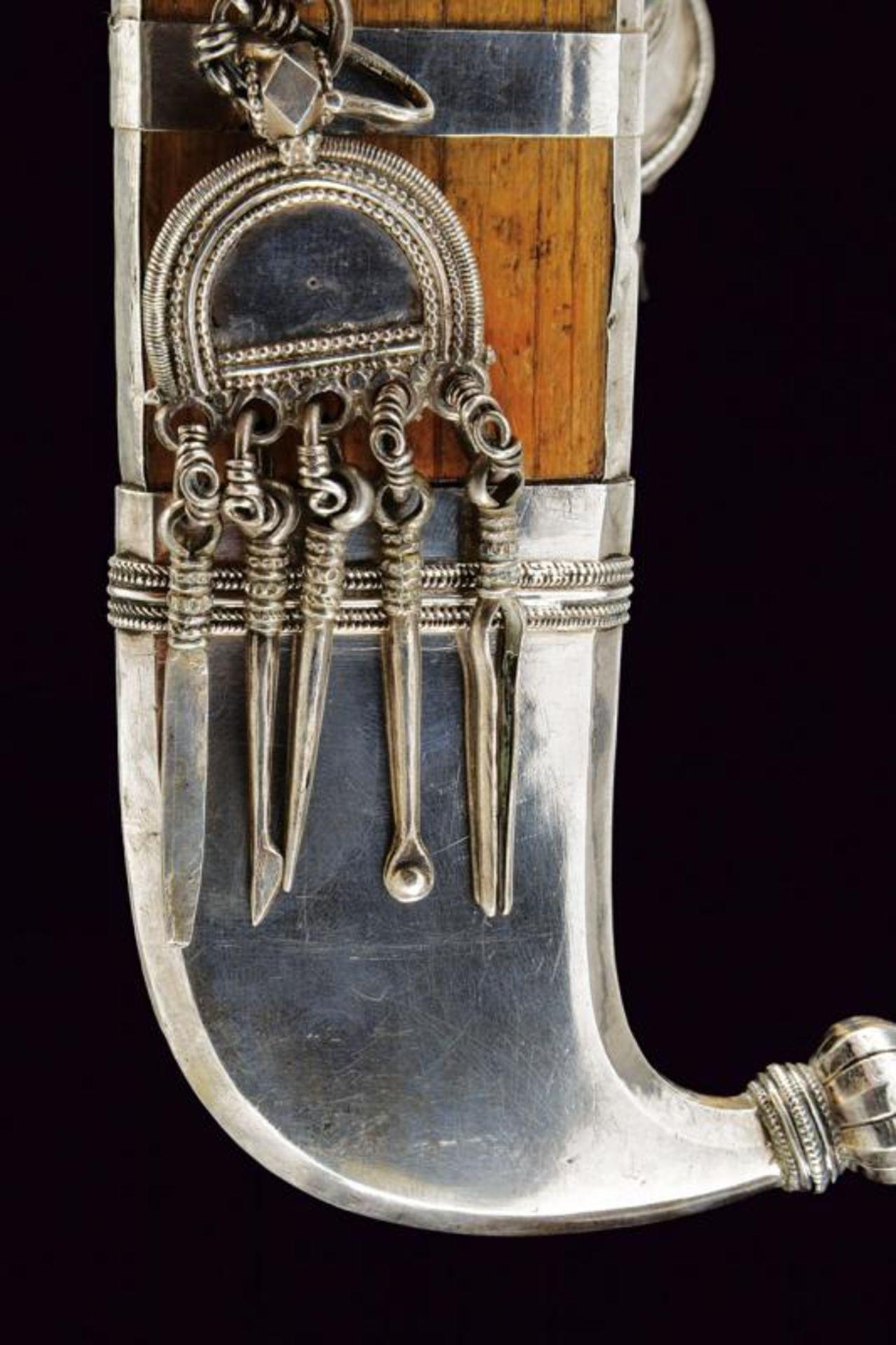 A silver mounted Pichangatti - Bild 2 aus 5