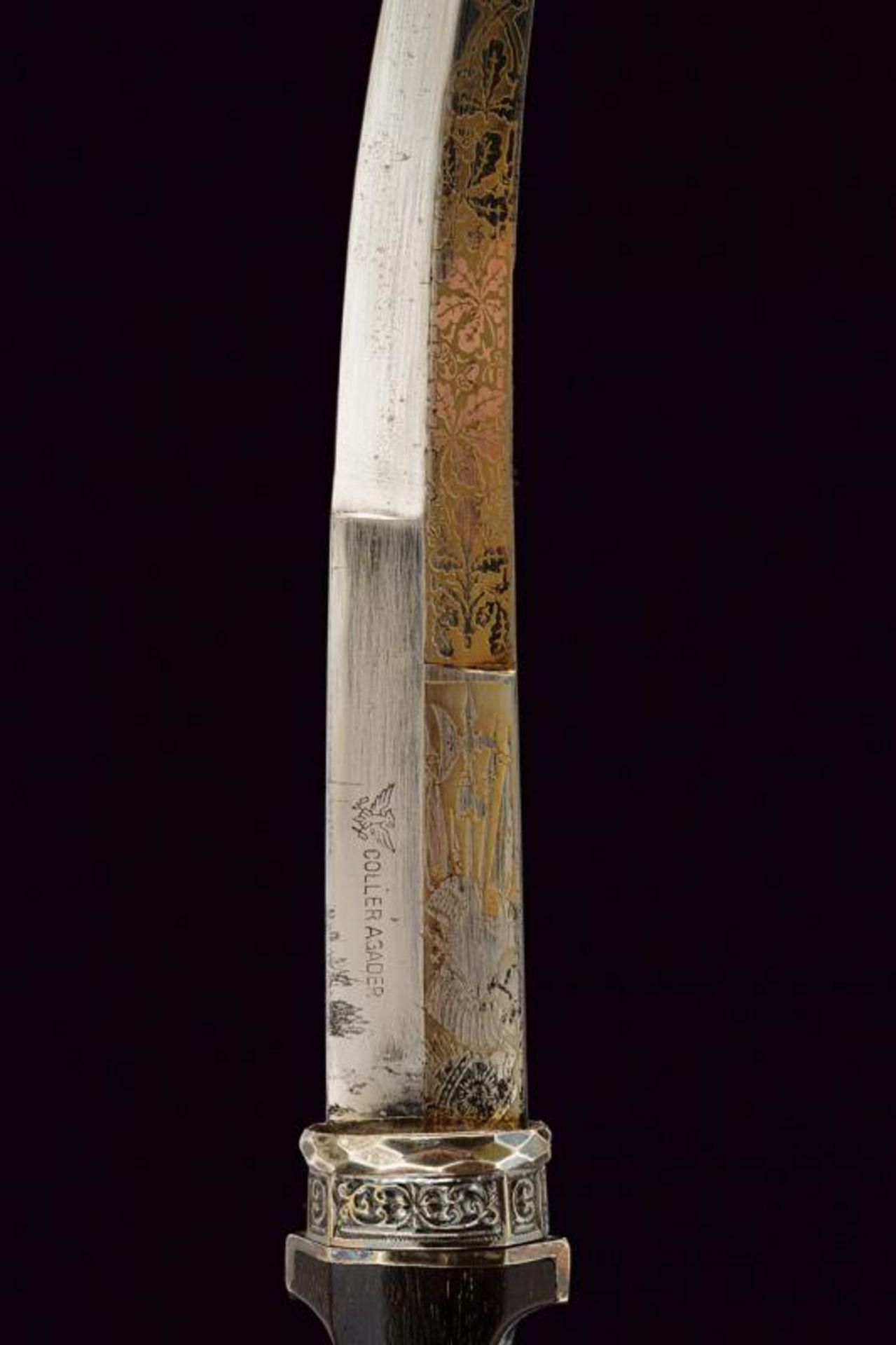 A silver mounted Koummiya - Bild 2 aus 8