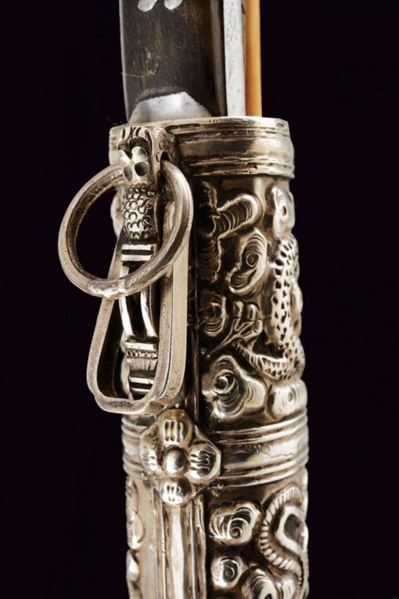 A silver mounted trousse - Bild 6 aus 8
