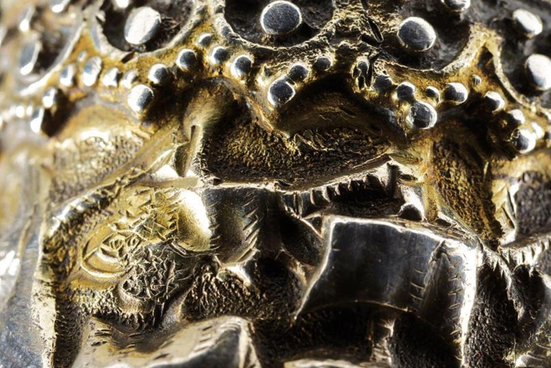 A rare silver mounted naval yatagan - Bild 8 aus 11