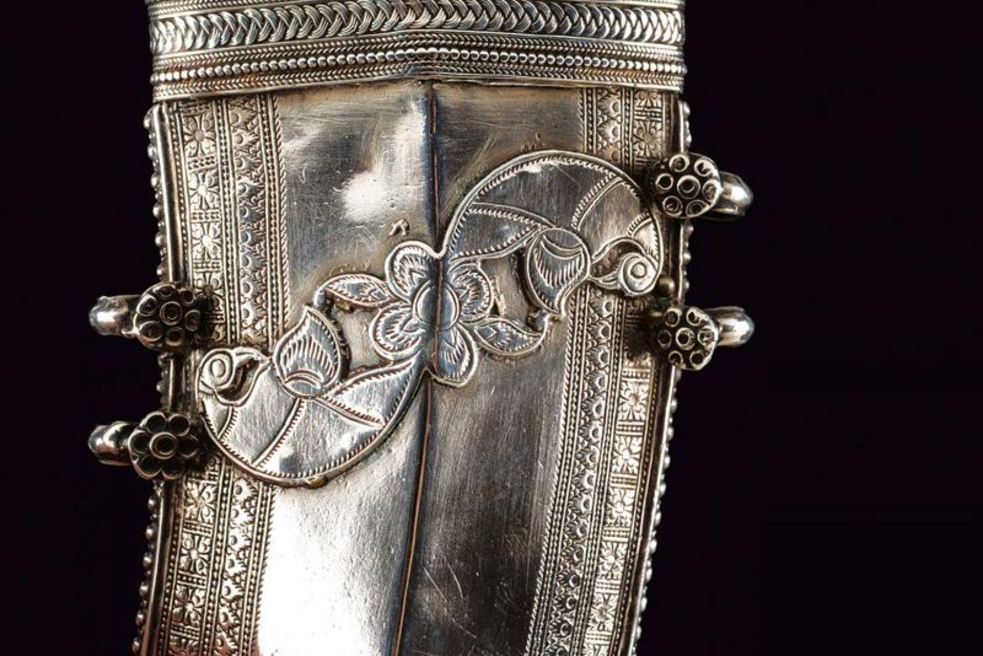 A silver mounted Jambiya - Bild 5 aus 8