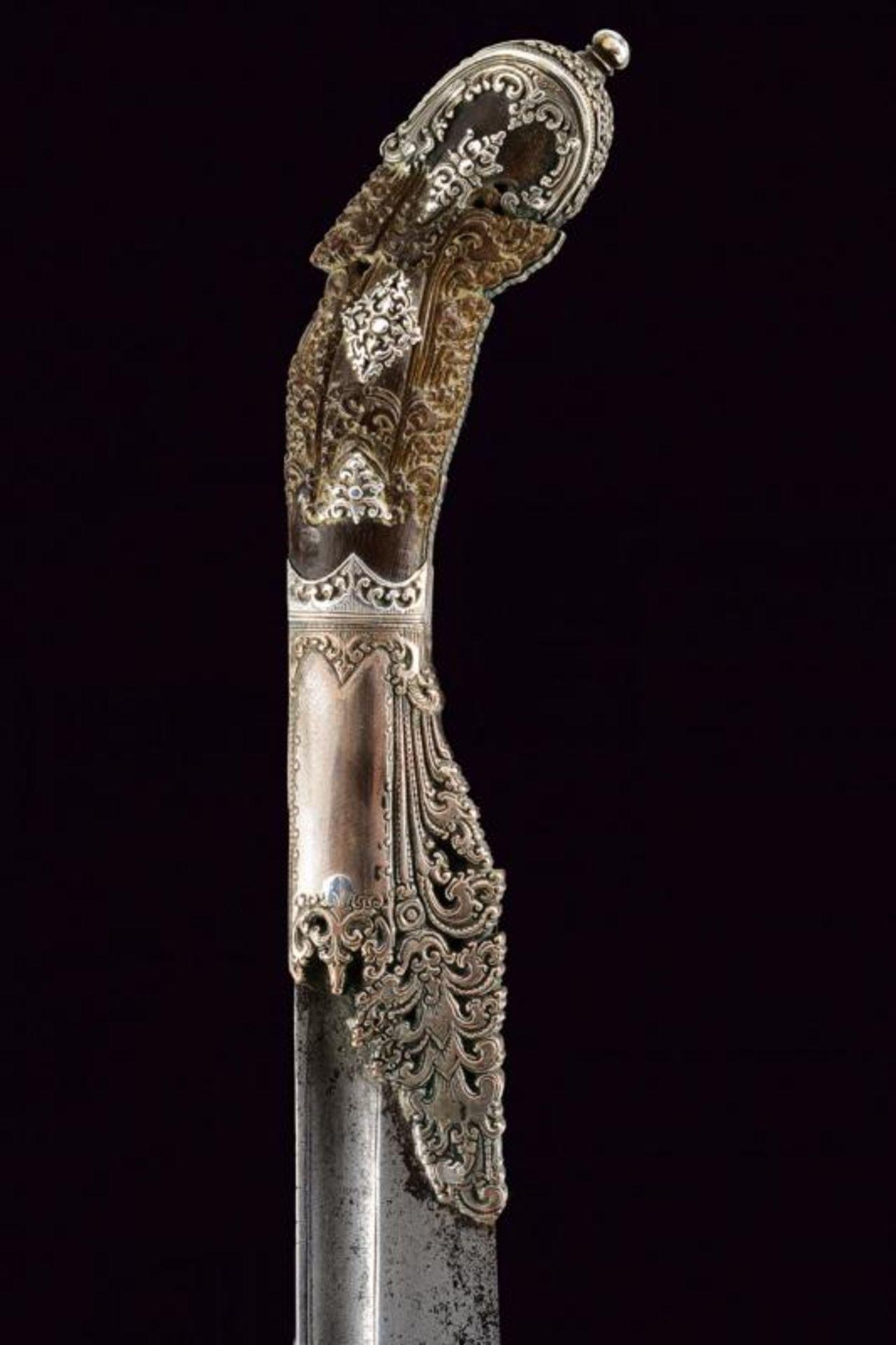A beautiful silver mounted Piha-kaetta - Bild 6 aus 8