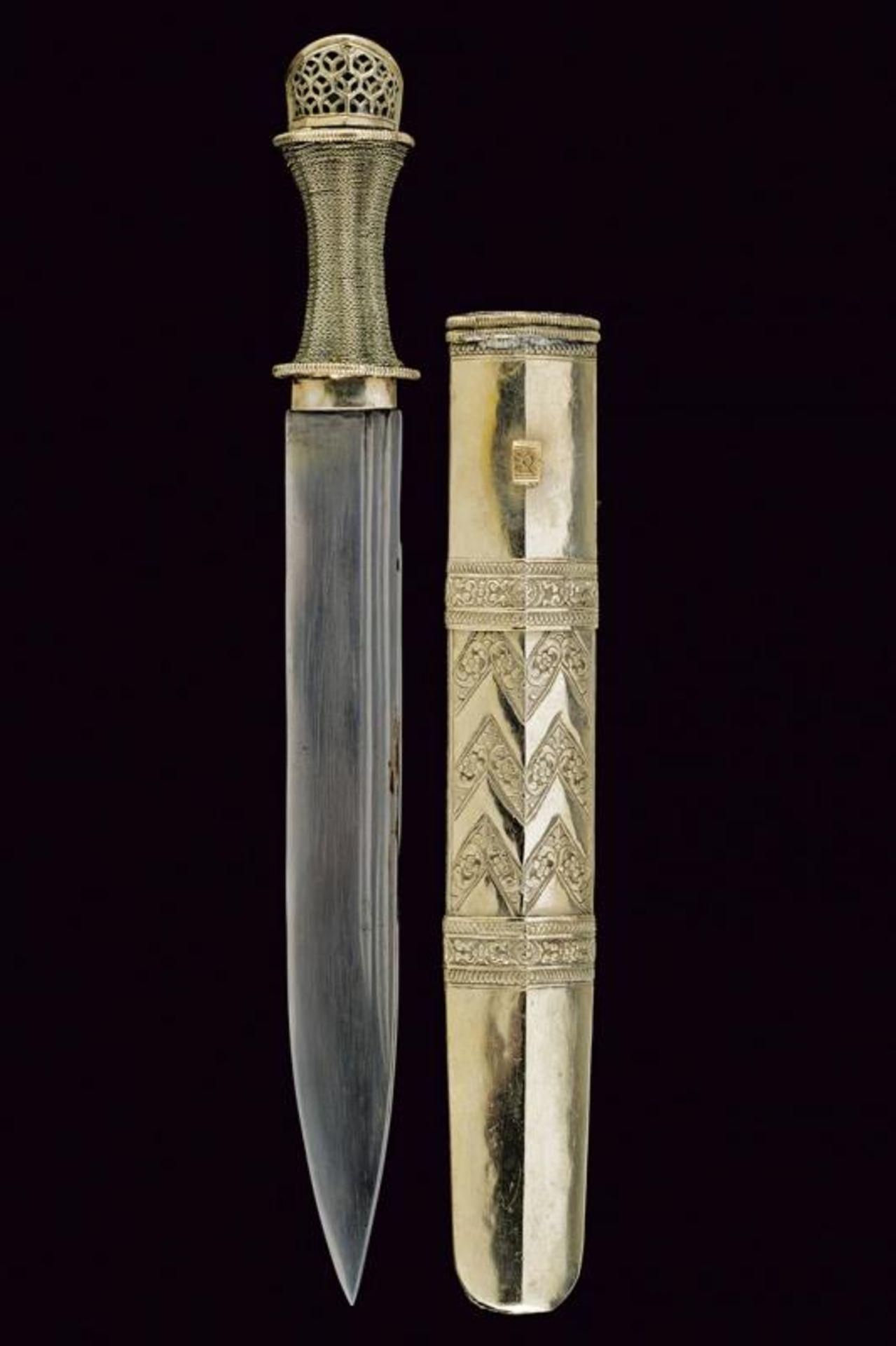 A silver mounted knife - Bild 6 aus 6