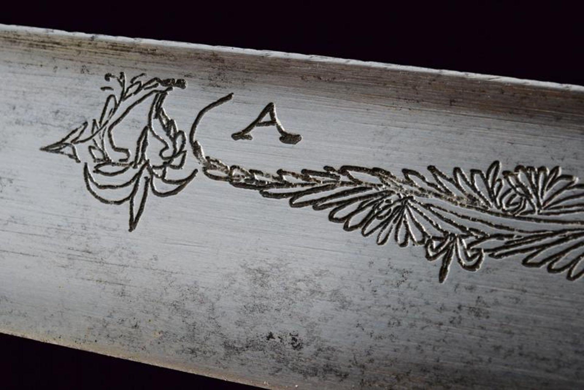 A very fine silver mounted knife - Bild 4 aus 9