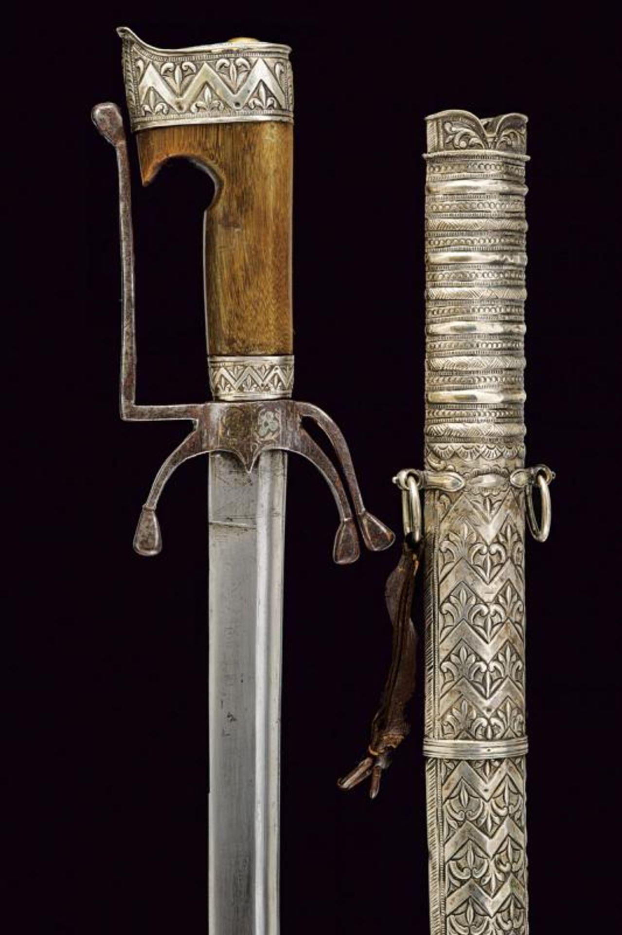 A silver mounted nimcha - Bild 4 aus 8