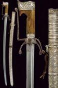 A silver mounted nimcha