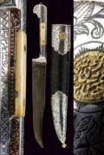 A fine silver mounted knife