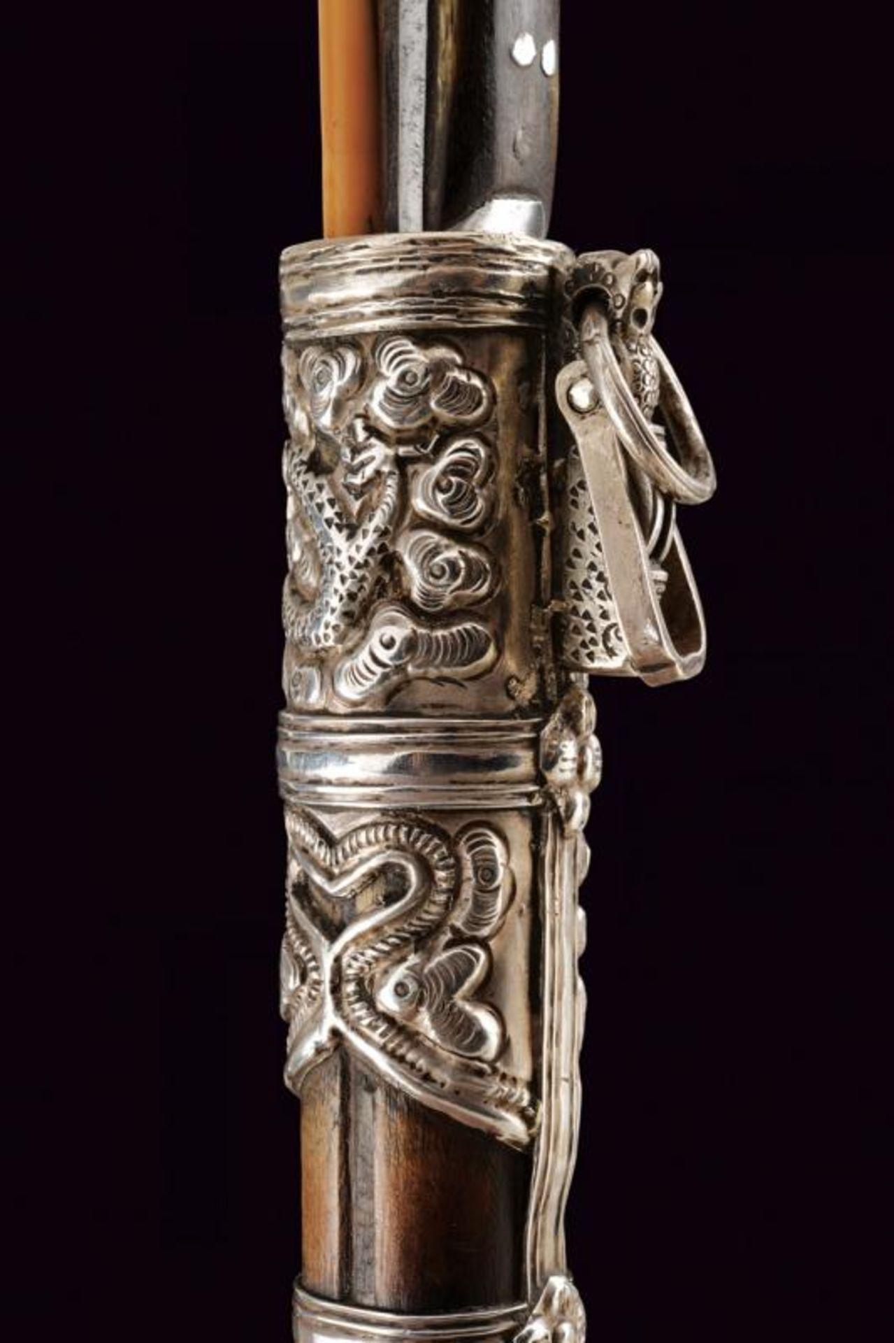 A silver mounted trousse - Bild 4 aus 8