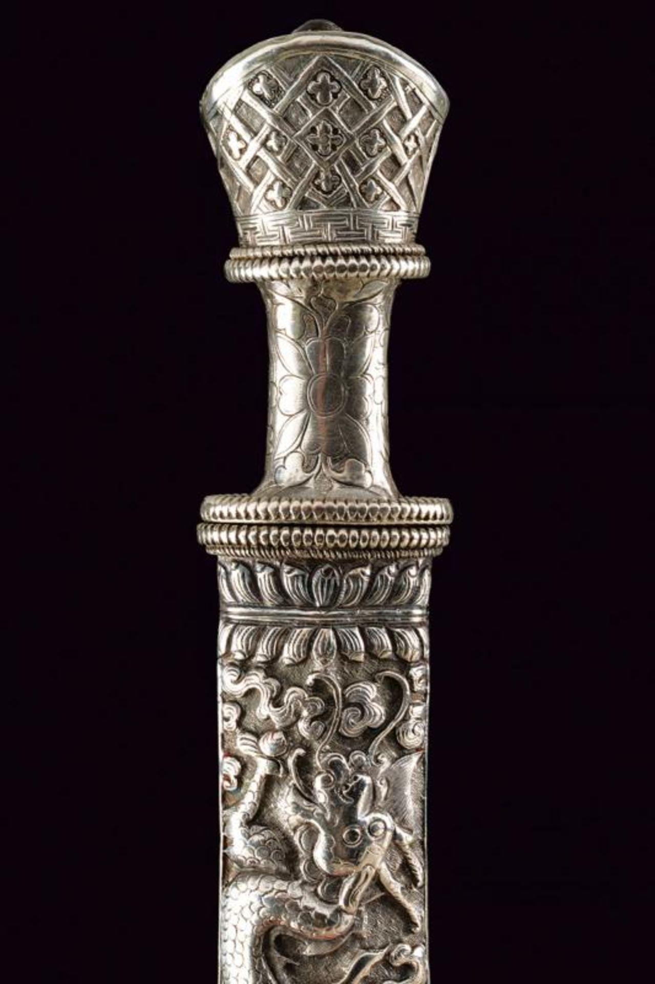 A beautiful silver mounted knife - Bild 4 aus 6