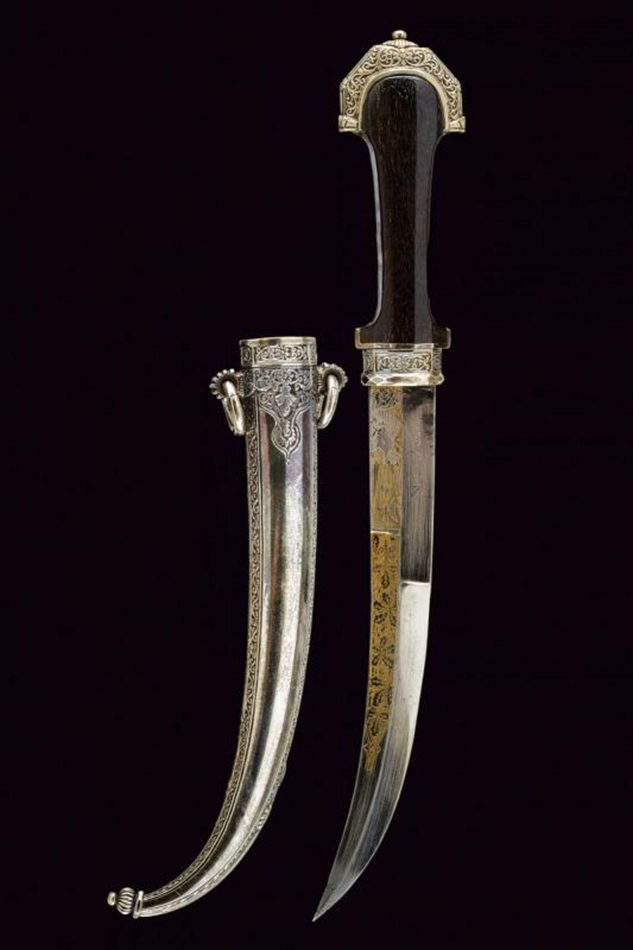 A silver mounted Koummiya - Bild 8 aus 8