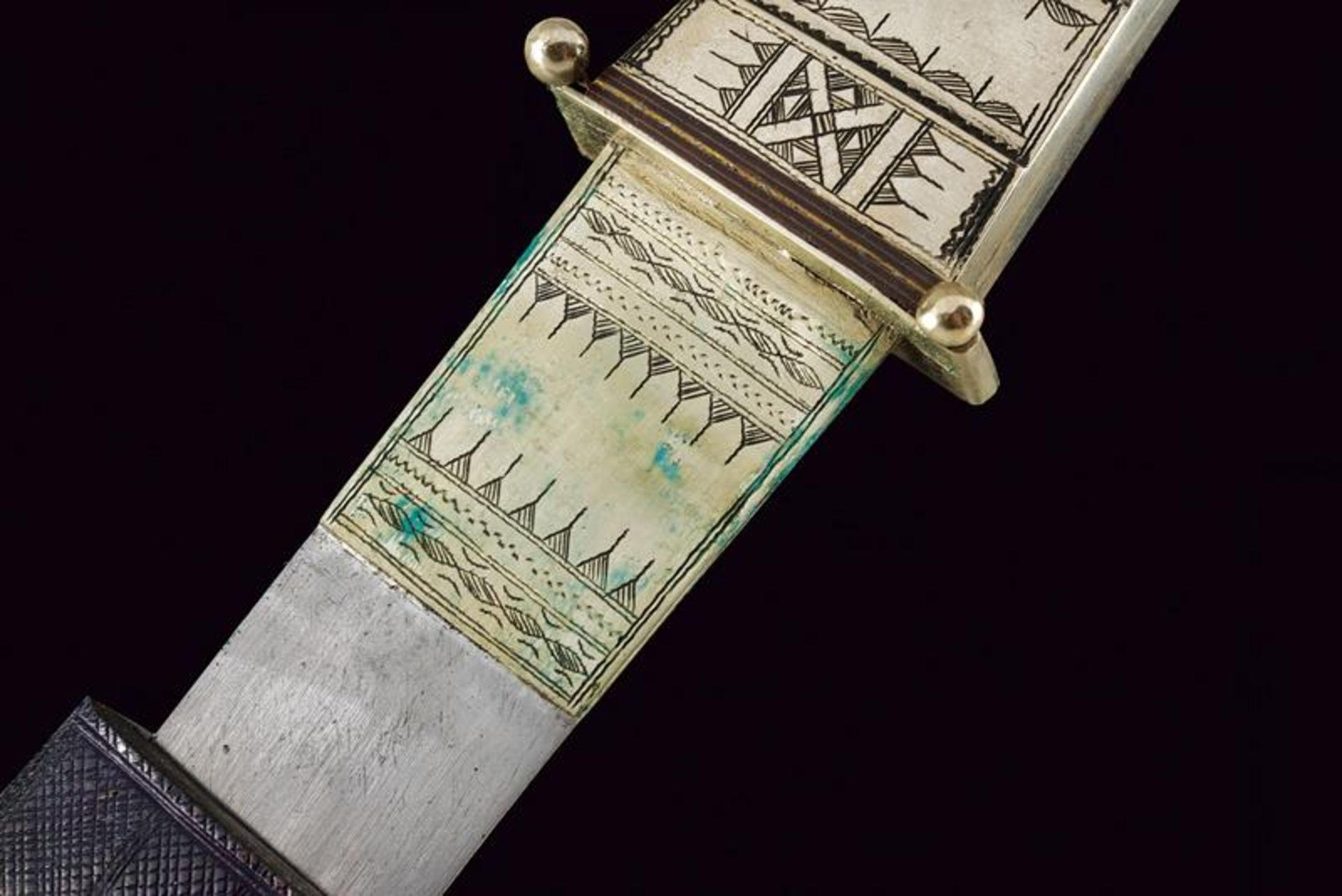 A Tuareg dagger - Bild 4 aus 7