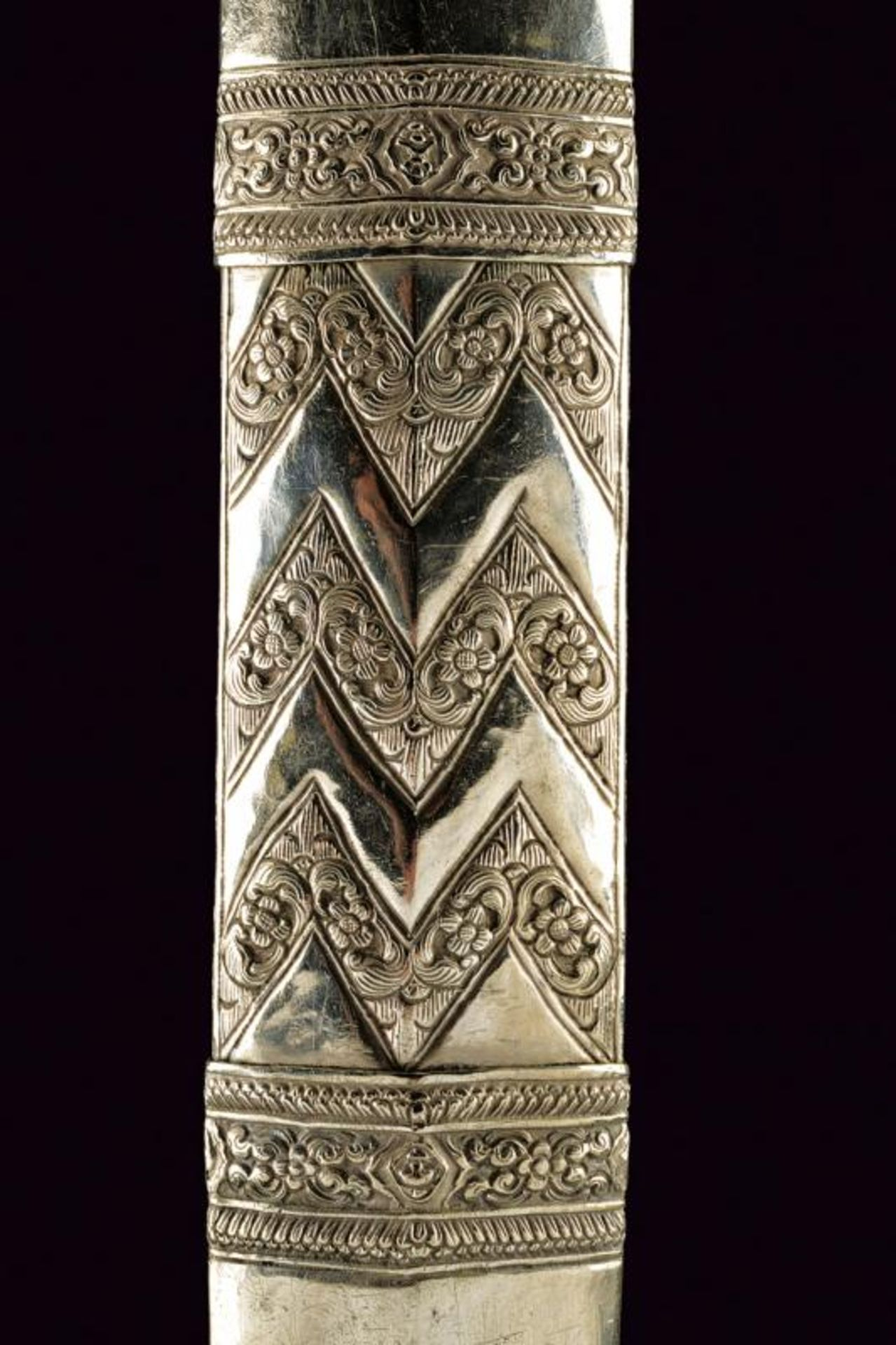 A silver mounted knife - Bild 4 aus 6