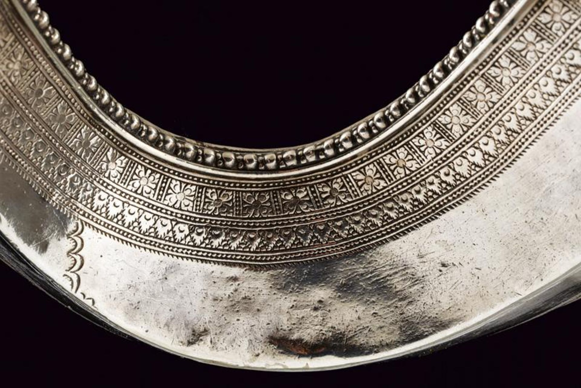 A silver mounted Jambiya - Bild 8 aus 8