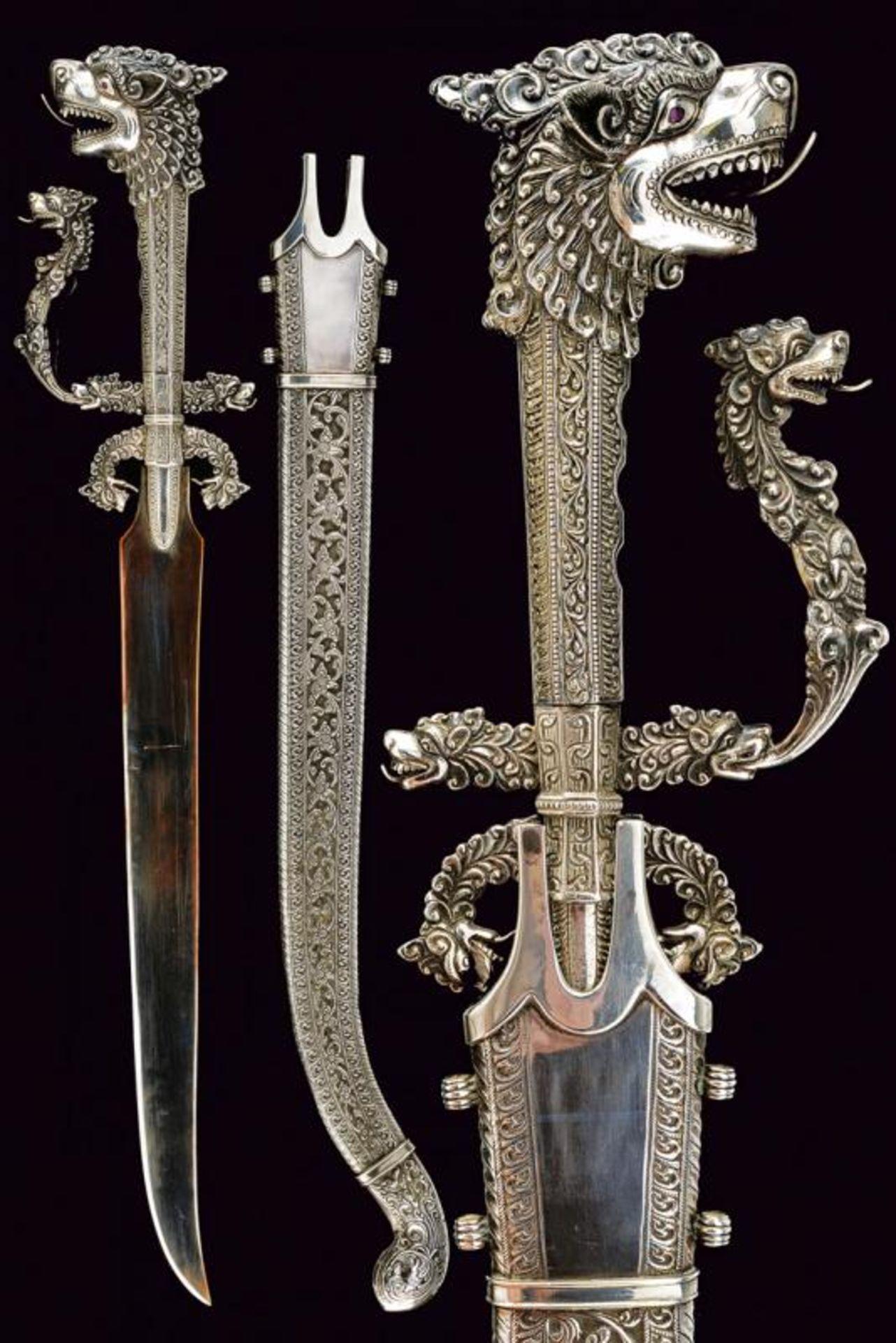 A beautiful full silver Kastane