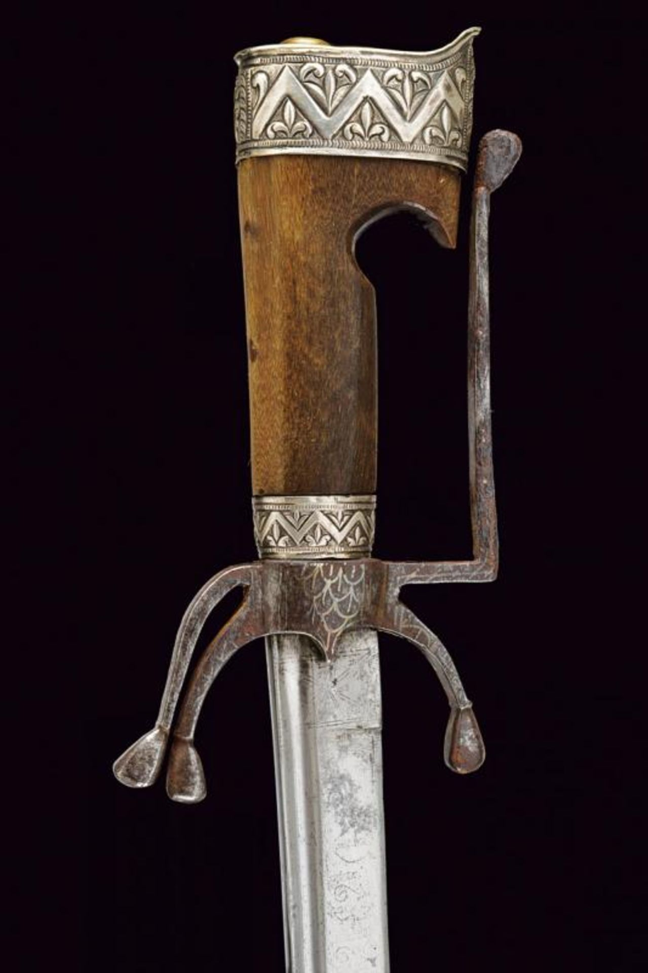 A silver mounted nimcha - Bild 2 aus 8
