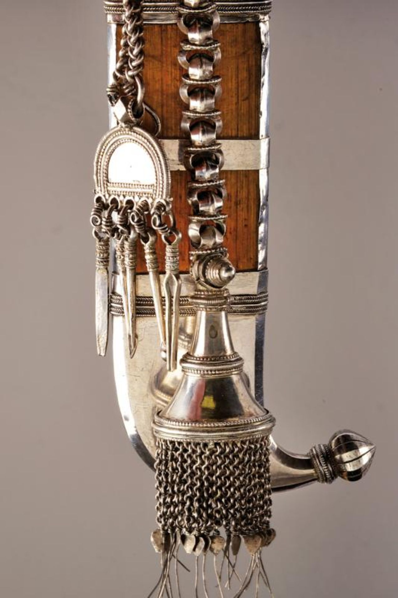 A silver mounted Pichangatti - Bild 3 aus 5