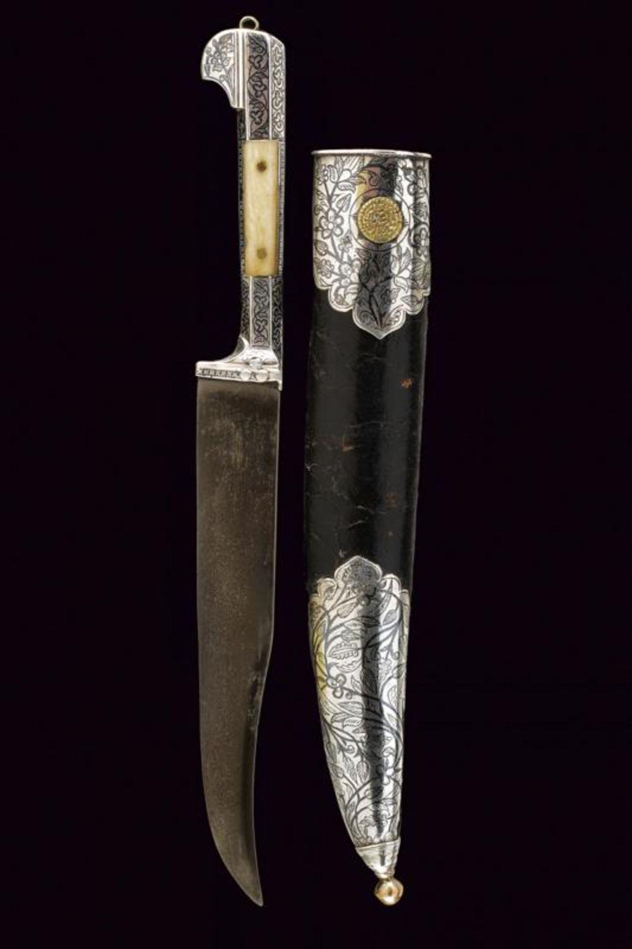 A fine silver mounted knife - Bild 10 aus 10